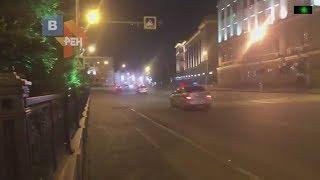 Погоня полицейских со стрельбой за Toyota перед ДТП в Иркутской области