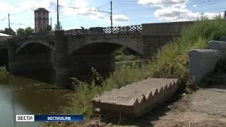 В Вологде приступили к ремонту Октябрьского моста