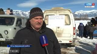 В Усть-Коксе прошли соревнования по конному спорту