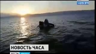 Самолёт амфибия потерпел крушение на Байкале