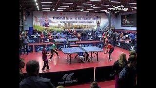В Самаре стартовали соревнования по настольному теннису среди спортсменов до 16 лет
