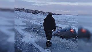 Житель Башкирии «утопил» иномарку в водоеме