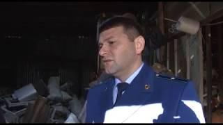 В центре Саратова обнаружили нелегальный пункт приема лома металла. Подробности