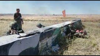 На полигоне Прудбой бойцов 20-й мотострелковой бригады испытали на стрессоустойчивость