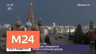 В Москве ожидаются гроза и сильный дождь - Москва 24
