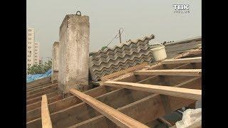 Красноярцы жалуются на некачественный ремонт крыши