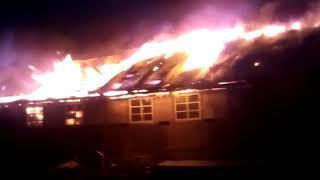 В Эжве сгорело производственное здание