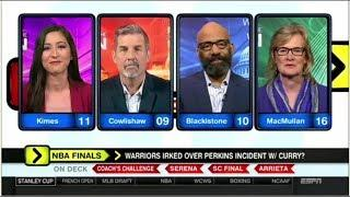 Around the Horn Today 06.04.2018 - Warriors Irked Over Perkins Incident W-Curry