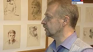 В художественной школе открылась выставка работ Алексея Потехина(ГТРК Вятка)