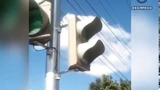 Светофор в районе «Глобуса» ввел пензенцев в заблуждение
