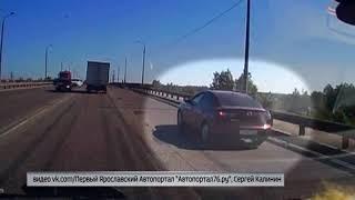 Поберегись: что ожидает автолюбителей на мосту в Ярославле