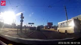 ДТП у метро Выборгская