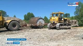 Новый мост через реку Иша в Красногорском районе построят до конца 2018 года