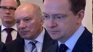 Ярославскую область с рабочим визитом посетил министр культуры России Владимир Мединский