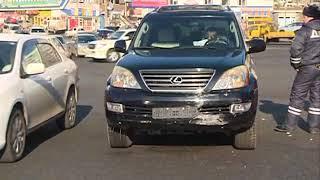 Невнимательность автомобилистки привела к ДТП на кольце 3-й Рабочей