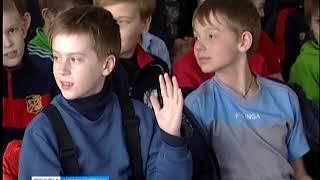 Анонс: юные хоккеисты встретились с летчиком-космонавтом, Героем России Федором Юрчихиным