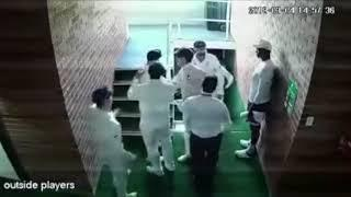 The Warner vs De Kock incident.