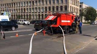 Взрыв газа в Петербурге