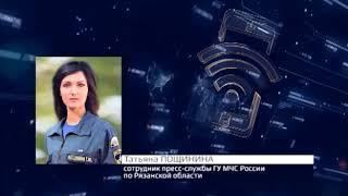 Подробности возгорания на свалке в Рязани