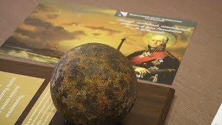 В Мордовию из Севастополя привезли ядро времён Феодора Ушакова