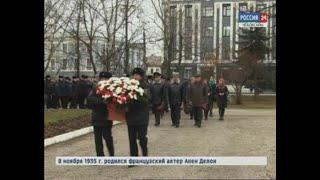 В Чебоксарах возложили цветы в память о погибших сотрудниках МВД