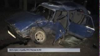 В регионе произошли сразу несколько аварий с пострадавшими