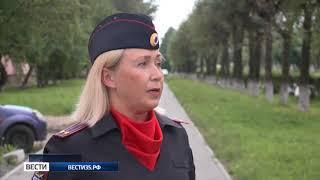 Инспектор ГИБДД Череповца спасла людей из горящего дома