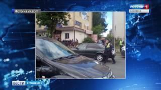 В Смоленске водитель легковушки сбил пешеходов