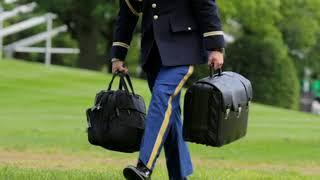 Ядерный чемоданчик, Трампа вызвал потасовку во время его визита в КНР