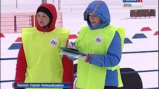 Чемпионат и Первенство области по лыжным гонкам в Перекопе (ГТРК Вятка)