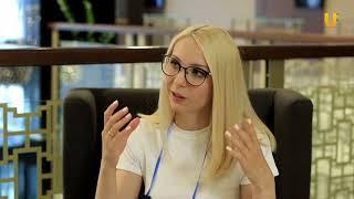Уфимский инновационный форум. Интервью с Олесей Хрипуновой
