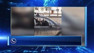 Автоледи, разбившая автомобиль топором, рассказала свою версию случившегося
