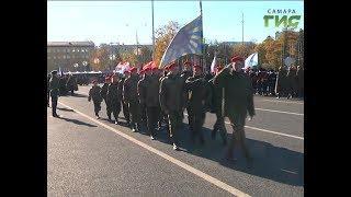 На площади Куйбышева прошла 1-я репетиция Парада Памяти