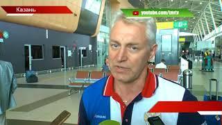 Серебряный заплыв: встреча пловцов в Казани - ТНВ