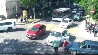 ДТП на ул. Красная и ул. Бабушкина 11.05.2018