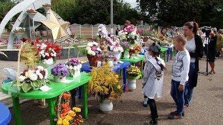 В Рузаевке состоялась выставка продажа цветов