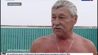 Амурские моржи проплыли 89 метров в память о Владимире Шаткове