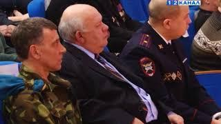 Торжественное мероприятия, посвященное Дню защитника отечества