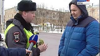 Нарушения правил ПДД на переходах (ГТРК Вятка)