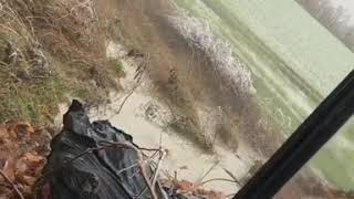 В Михайловске отходы из канализации вышли наружу