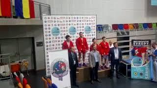 Самбист из Совгавани победил на чемпионате Европы