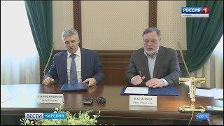 Правительство Карелии и Ленинградская область подписали соглашение о сотрудничестве