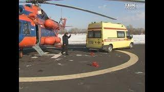 ДТП с автобусом Красноярск-Шерегеш