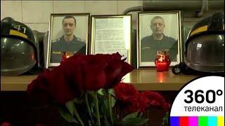 Двух пожарных-героев представят к государственной награде