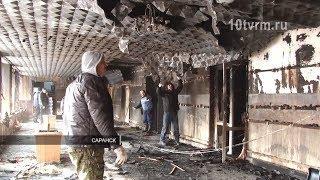 """В Саранске на пожаре в здании службы """"112"""" погиб человек"""
