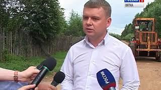 В Кирове отремонтируют 10 грунтовых дорог (ГТРК Вятка)