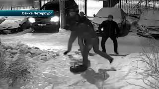 Житель Петербурга разогнал шайку хулиганов, избивавших прохожего