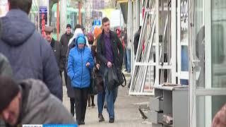 В Красноярске продолжают сносить торговые павильоны