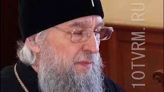 Владимир Волков встретился с митрополитом Саранским и Мордовским Зиновием