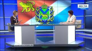 «Вести: Приморье. Интервью» с Ириной Мануйловой
